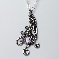 Silver Necklace Pend