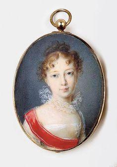 BERNHARD EDLER VON GUÉRARD (d. 1836) Maria Pavlovna (1786-1859), Grand Duchess of Russia, Grand Duchess of Weimar,