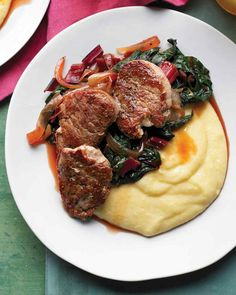 We dont eat a lot of pork in our house but this chard recipe sounds delicious!