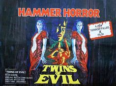Hammer Films Movie Posters | TWINS OF EVIL - hammer horror b movie posters wallpaper image