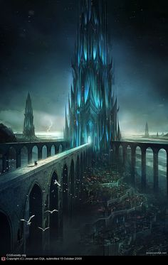 3dcity34 World Of Fantasy And Imagination Which Depict Future Cities (Dreamy Artworks)