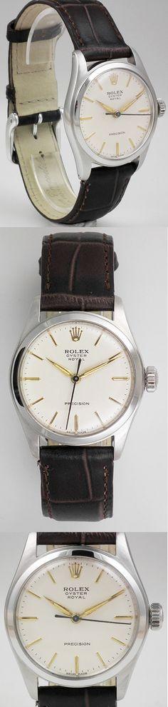 1953 Rolex 6144 Oyster Royal