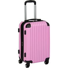 New Trending Luggage: Best Choice Products 20 Hardshell Spinner Expandable Carry On Luggage Travel Bag- Pink. Best Choice Products 20″ Hardshell Spinner Expandable Carry On Luggage Travel Bag- Pink   Special Offer: $39.94      255 Reviews Best Choice Products presents this brand new expandable carry-on luggage. Ready, set, travel! Lightweight construction is made with a scratch-resistant, ABS...