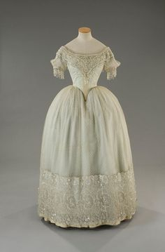 Costume designed by Piero Tosi for Teresa Stratas in La Traviata (1982) An example inspired by the 1840s.