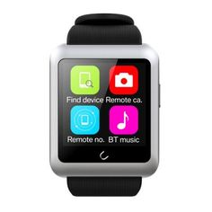 UWATCH U11 MTK2502C 1.59 Inch TFT Touch Screen Bluetooth 4.0 Smart Watch with Anti Lost Support Health Monitoring & Single SIM Card