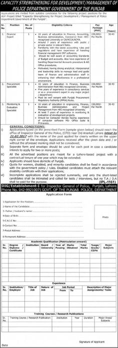 PS Healthcare Department Punjab Jobs   Stuff To Buy
