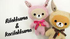 DIY Korilakkuma & Rilakkuma Plush | DIY Easter Bunny | リラックマ Sewing Tuto...