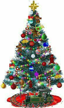 123 christmas greetings 123 christmas cards the train goes around the tree - Life ideas Merry Christmas Gif, Christmas Scenes, Christmas Wishes, Christmas Pictures, Christmas Art, Christmas Greetings, Beautiful Christmas, Winter Christmas, Vintage Christmas