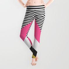 """Pretty in Pink"" Leggings by Elisabeth Fredriksson on Society6."