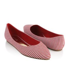 stripey flats {for a song}.