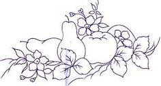 Resultado de imagen de pintura em tecido frutas