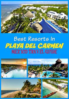 The best All-Inclusive Playa Del Carmen Resorts : Ocean Riviera Paradise Daisy Family Club, Gran Porto, Ocean Riviera Paradise El Beso, Grand Riviera Princess All Suites, Secrets Capri Riviera Cancun, Grand Velas Riviera Maya, Sandos Playacar, Sandos Caracol , Blue Diamond Luxury Boutique Hotel, Occidental at Xcaret Destination