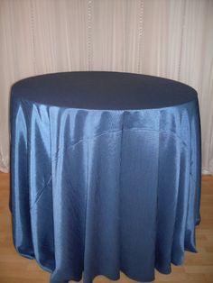 Sapphire Faux Silk linen #blue #navy #linen #chairdecor #linenfactory #event #finelinen