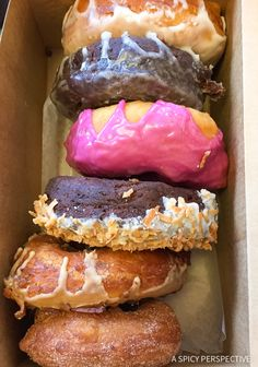 Holy Donuts in Portland, Maine Coast Crawl on ASpicyPerspective.com #travel