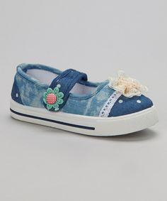 Look at this Mine Light Navy Mary Jane on #zulily today!