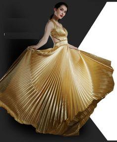 Golden dresses | golden-satin-evening-dresses