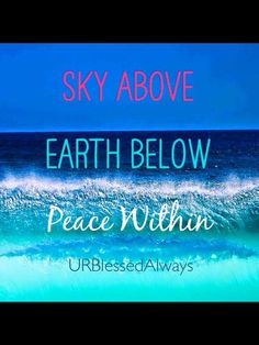 #URBlessedAlways, peace quote
