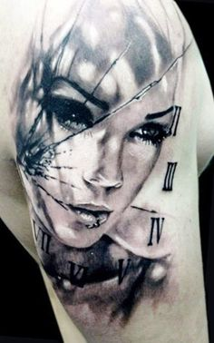 Tattoo Artist - Jak Connolly - face tattoo - www.worldtattoogallery.com