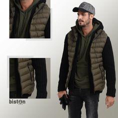 💯Ανδρικό αμάνικο Biston σε μαύρο και χακί! Ιδανικό για τις καθημερινές σου βόλτες 🆒 outfit ❗❗❗  ☎️ +30 2310 414 102   +30 2310 411 715 📩 info@biston.gr 📌 2ο χλμ. Παλαιάς Συμμαχικής Οδού Ωραιοκάστρου - Διαβατών Θεσσαλονίκη - Ελλάδα  #menfashion #fallfashion #winterfashion #winterstyle #winteroutfit #wintercollection #coat #biston #autumnstyle #autumnfashion #autumnoutfit #bistonoutfit #bistonfashion Canada Goose Jackets, Winter Jackets, Social Media, Fashion, Winter Coats, Moda, Winter Vest Outfits, Fashion Styles, Social Networks