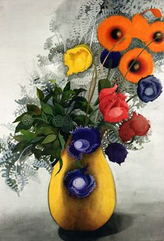 """wasbella102: """" By Edward Burra Good Morning ♥ Have a wonderful Sunday, TY to new followers xx Joanne """""""