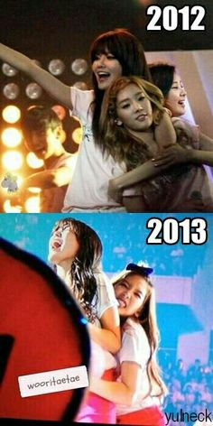 Sooyoung and Taeyeon (SNSD) XD