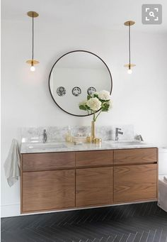 Natural wood cabinet.