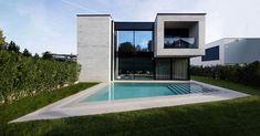 Prêt-à-Hàbiter 1, Lugano - @minocaggiulaarc #pool #glass