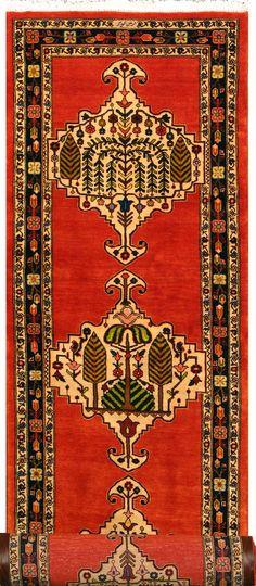 "Buy Bakhtiari Persian Rug 2'  11"" x 13'  1"", Authentic Bakhtiari Handmade Rug"