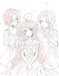 Xả ảnh The Promised Neverland - Emma, Gilda, Anna - Wattpad Top Manga, Anime Manga, Anime Art, Shingeki No Bahamut, Undertale Fanart, Anime Kunst, Bendy And The Ink Machine, Tsundere, Anime Ships