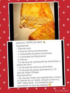 Torta de maiz baja en carbs