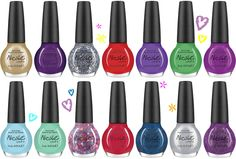 """NICOLE BY OPI NAIL POLISH - JUSTIN BIEBER - """"ONE LAST LONELY GIRL"""" COLLECTION"""