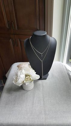 The necklace is made of stainless steel materials, which means they will not tarnish. Stainless Steel Material, Stainless Steel Chain, Black, Jewelry, Stainless Steel, Black People, Jewlery, Bijoux, Jewerly