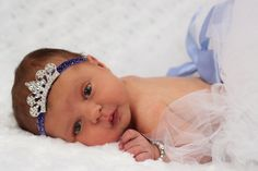 Rhinestone Tiara Glitter Headband You Choose by scarletsshoppe