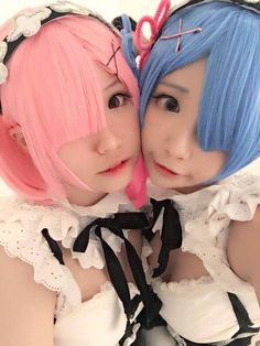 Ram and Rem cosplay!