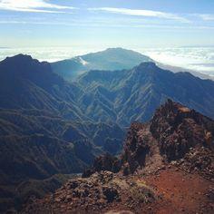 Caldera de taburiente La Palma