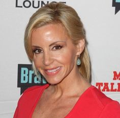Camille Grammer hairstyles: low ponytail vs. down