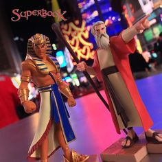 """The Lord says, 'Let my people go.'"" –Moses  Even when people stand in the way of what the Lord has planned, His plan will prevail! God can do incredible things through someone who is willing and obedient. Bring Bible stories to life for your children with the new Superbook toy set—a limited edition offer (USA Only).  #Moses #Pharoah #Superbook8 #Toys #Superbook #Special Toy Sale, Bible Stories, My People, Your Child, Superheroes, Christians, Superhero"
