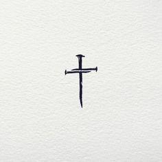 negative space cross tattoos \ negative space cross tattoos , cross tattoos for men negative space Small Tattoos Men, Small Cross Tattoos, Cross Tattoos For Women, Simple Mens Tattoos, Simple Cross Tattoo, Little Cross Tattoos, Pretty Cross Tattoo, Cross Tattoo Men, Feminine Cross Tattoo