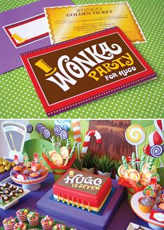 Every party I throw from now on will be Willy Wonka Themed, and involve a golden ticket as an invite. Either that, or I need to plan a lot of childrens birthday parties.  Does anybody need a childrens birthday party planned?