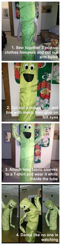 wacky waving inflatable tube man Halloween Costume DIY