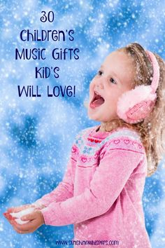 30 Children's Music Gifts Kids Will Love! 30 Children's Music Gifts Kids Will Love! – Sunshine Whispers www. Easy Crafts For Kids, Fun Crafts, Gifts For Kids, Toddler Boy Gifts, Childrens Gifts, Toddler Girls, Inexpensive Christmas Gifts, Christmas Presents, Xmas