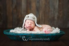 Baby Photography Blanket - Cable Knit Newborn Wrap - Chunky Blanket Prop - Cocoon in Oatmeal. $54.00, via Etsy.