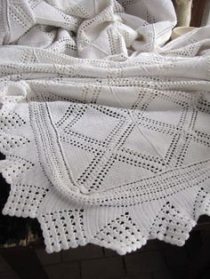 Vintage antique french crochet bed cover coverlet white   eBay