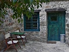 Milia, a rustic mountain village in Crete, turned into an eco-sensitve hotel. Really wonderful though there's not much to do up there.