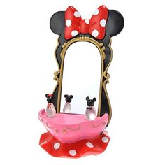 Minnie Mouse Vanity Cell Phone Holder