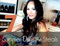 SOS SUMMER BEAUTY REGIMEN: 7 Summer Drugstore Steals with Tiffany Hendra #sanctuaryofstyle #jergensnaturalglow @Target #summerskincare #haircare
