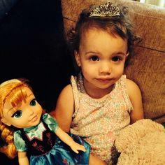 Most beautiful Princess @avajaymesmclean @skulleeroz @madonnamark @rochelle_deanna #Padgram