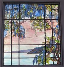 Veduta di osyster bay - Louis Comfort Tiffany Louis Comfort Tiffany, Voyage Europe, Art Nouveau, Stained Glass Windows, Deco, Portrait, Gallery, Artwork, Plants