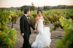 Hair and Makeup by DeeAnna Reese!  An Ivory Glamorous Vineyard Wedding at Stryker Sonoma Winery in Healdsburg, California