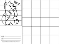Grid Drawing Practice
